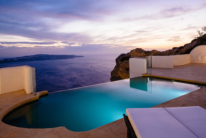 Matrimonio Azzurro Hotel : Azzurro suites santorini
